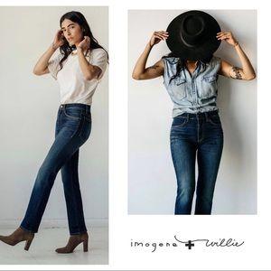 NEW Imogene + Willie Womens Barton Slim Jeans